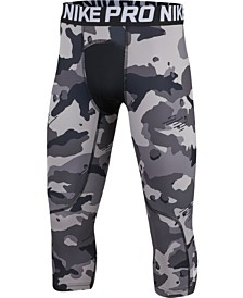 Nike Big Boys 3/4th-Length Printed Training Tights