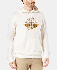 Dockers Men's Alpha Slim-Fit Logo Hoodie