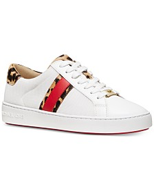MICHAEL Michael Kors Irving Side-Striped Sneakers