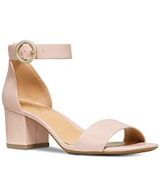 MICHAEL Michael Kors Lena Block Heel Dress Sandals