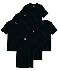 Jockey Men's 6-Pk. Classic Cotton V-Neck T-Shirts