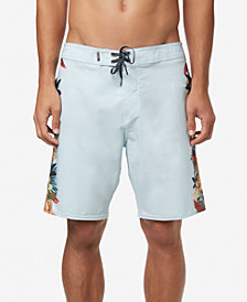 "O'Neill Men's Hyperfreak Tropic Stretch Tropical-Print 19"" Board Shorts"