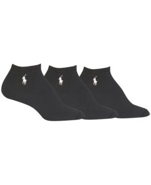 Lauren Ralph Lauren Women's 3-Pk. Super-Soft Low-Cut Socks