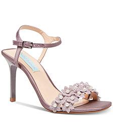 Betsey Johnson Snow Evening Sandals