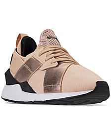 Women's Muse Metallic Casual Sneakers from Finish Line