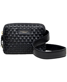 Radley London Weavers Way Leather Belt Bag