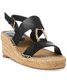 Lauren Ralph Lauren Bena Espadrille Wedge Sandals
