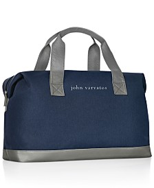 Receive a Complimentary duffle bag with any large spray purchase from the John Varvatos Men's Fragrance Collection
