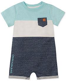 Calvin Klein Baby Boys Colorblocked Romper