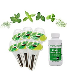 AeroGarden Cocktail & Mocktail 6-Pod Seed Kit
