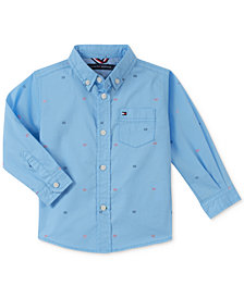 Tommy Hilfiger Baby Boys Lamar Printed Button-Front Shirt