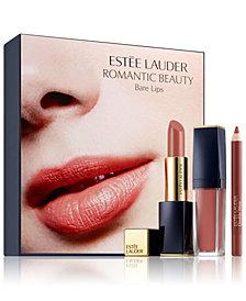 Estée Lauder 3-Pc. Romantic Beauty Bare Lips Set