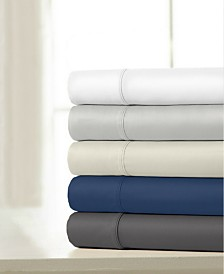100% Cotton Sateen 1200 Thread Count 4-Piece Sheet Sets