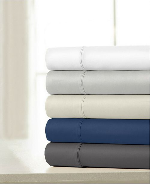 Ella Jayne 100% Cotton Sateen 1200 Thread Count 4-Piece Sheet Sets