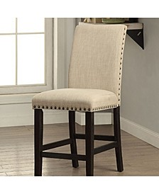 Modern Style Counter Height Chair, Set of 2