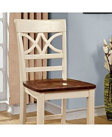 Cottage Counter Height Chair with Wooden Seat