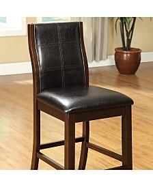 Benzara Parson Chair Counter Height Chair, Set of 2