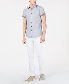 Kenneth Cole New York Men's Dot-Print Shirt & Twill Pants