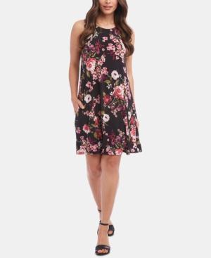 Karen Kane Dresses FLORAL-PRINT SLEEVELESS DRESS, A MACY'S EXCLUSIVE