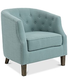 Ansley Barrel Chair, Quick Ship