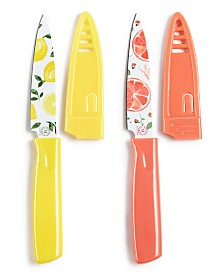 Martha Stewart Collection 2-Pc. Paring Knife Set, Created for Macy's