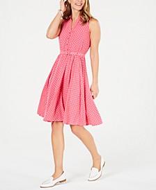 Polka Dot Shirtdress, Created for Macy's