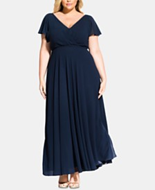 8ddf4b6f25428 City Chic Trendy Plus Size Sweet Wishes Maxi Dress
