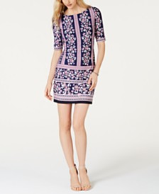 Jessica Howard Printed Shift Dress