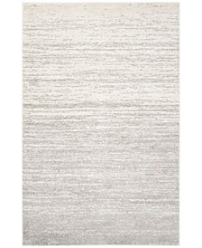 Adirondack Ivory and Silver 6' x 9' Area Rug