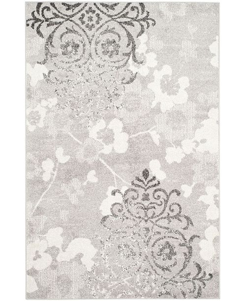 Safavieh Adirondack Silver and Ivory 6' x 9' Area Rug