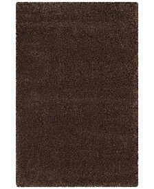 Santa Monica Shag Brown 4' X 6' Area Rug