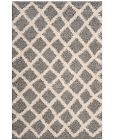 Dallas Gray and Ivory 6' x 9' Area Rug