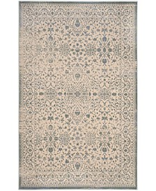 "Brilliance Cream and Sage 6'7"" x 9'2"" Area Rug"