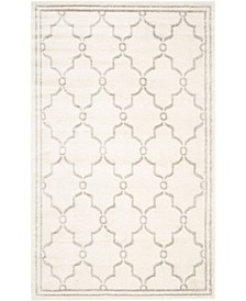 Amherst Ivory and Light Gray 11' x 16' Rectangle Area Rug