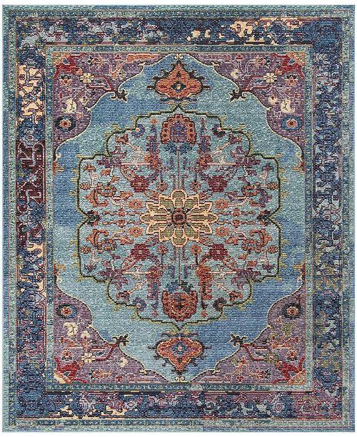 Safavieh Harmony Blue and Purple 9' x 12' Area Rug
