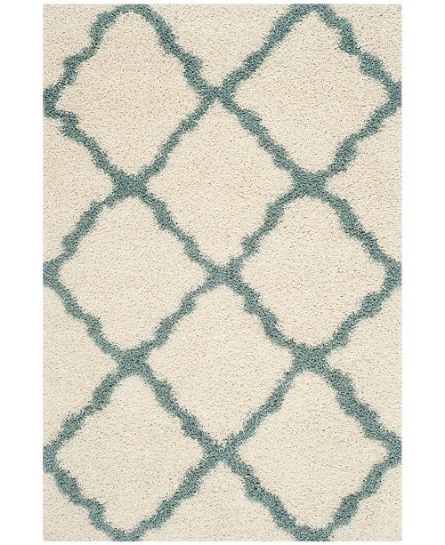 Safavieh Dallas Ivory and Light Blue 10' x 14' Area Rug