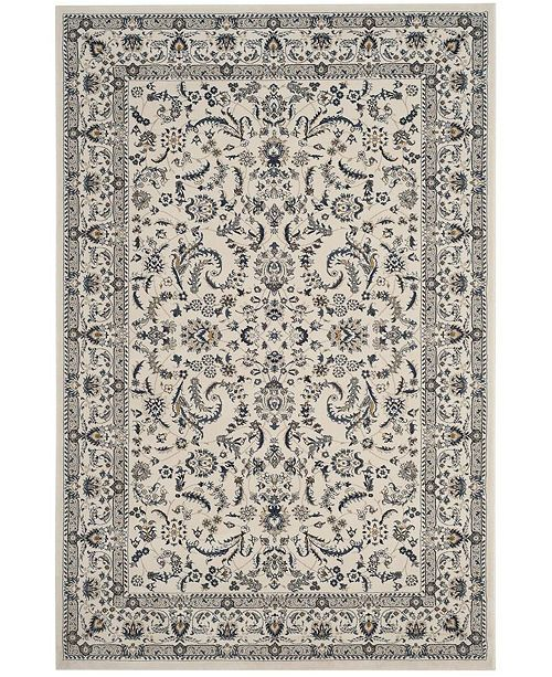 """Safavieh Serenity Ivory and Blue 2'3"""" x 8' Runner Area Rug"""