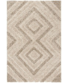 "Safavieh Memphis Cream and Taupe 5'1"" x 7'6"" Area Rug"