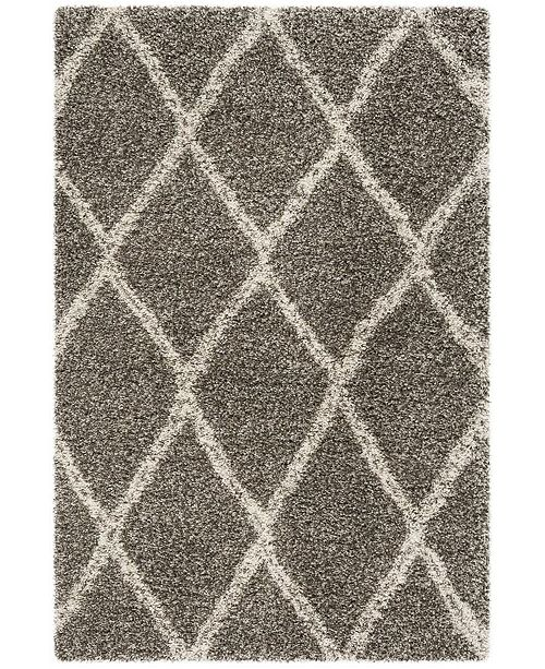 Safavieh Hudson Gray and Ivory 8' x 10' Area Rug