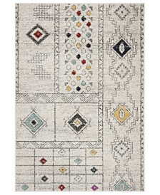 Safavieh Adirondack Light Gray and Aqua 8' x 10' Sisal Weave Area Rug