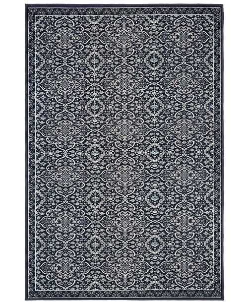 Safavieh Montage Navy and Ivory 8' x 10' Area Rug