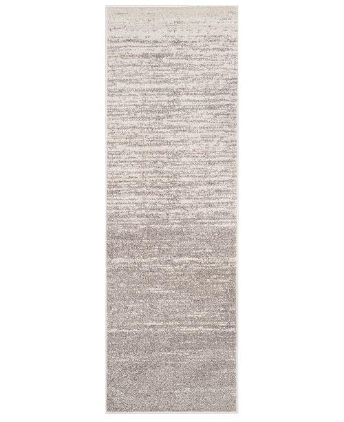 "Safavieh Adirondack Light Gray and Gray 2'6"" x 22' Area Rug"