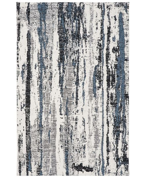 """Safavieh Classic Vintage Navy and Ivory 2'3"""" x 8' Runner Area Rug"""