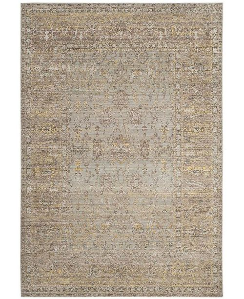 Safavieh Valencia Gray and Multi 5' x 8' Area Rug