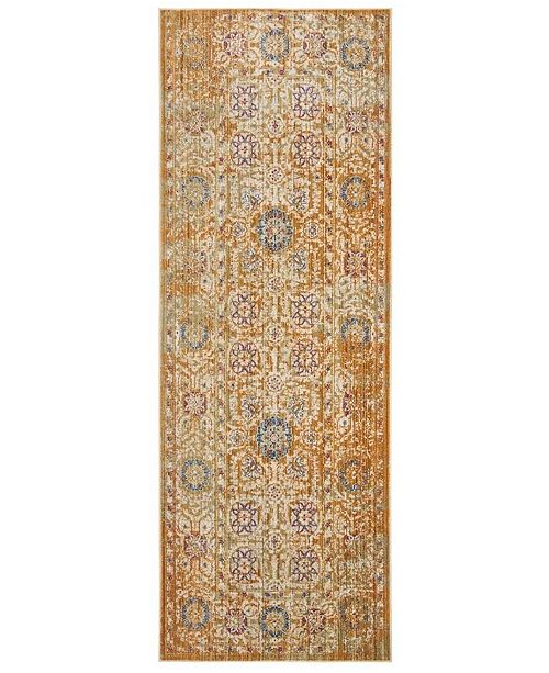 Safavieh Sutton Gold and Ivory 3' x 10' Area Rug