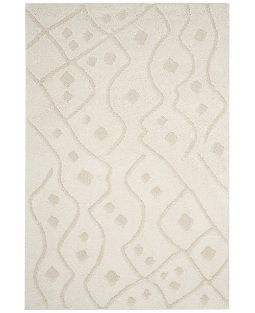 Safavieh Sparta Ivory and Beige 3' x 5' Area Rug