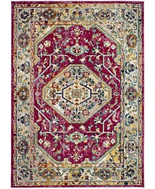 Savannah Violet and Violet 7' x 7' Square Area Rug