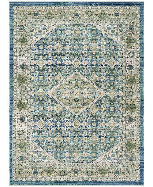 Safavieh Sutton Blue 4' x 6' Area Rug