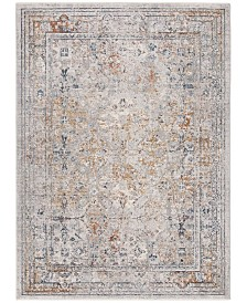 Safavieh Winston Light Gray and Cream 8' x 10' Area Rug