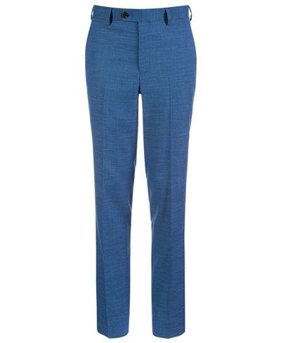 Lauren Ralph Lauren Big Boys Classic-Fit Stretch Blue Suit Pants